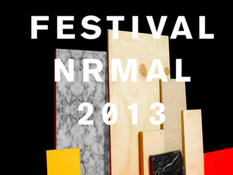 Festival NRMAL announces 2013 Lineup