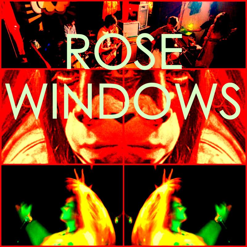 Rose Windows sign with Sub Pop