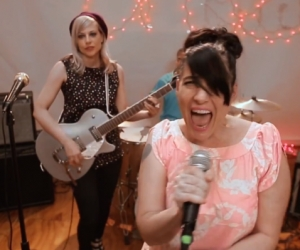 "Kathleen Hanna's 'The Julie Ruin' Video Drops new video for ""Oh Come On"" ""Run Fast"" comes out September 3 vis Dischord and TJR"