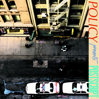 Policy Premieres New Track & Video, 'Postscript' EP. 'Postscript' EP is out October 1st, on 100% Silk