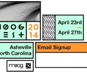 Moogfest Expands to Five-Days Exploring the Synthesis of Technology, Art and Music. Moogfest 2014 Asheville, North Carolina: Wednesday April 23 –Sunday April 27