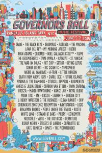 Fifth Annual Governors Ball Music Festival announces 2015 lineup THE BLACK KEYS, DEADMAU5, LANA DEL REY