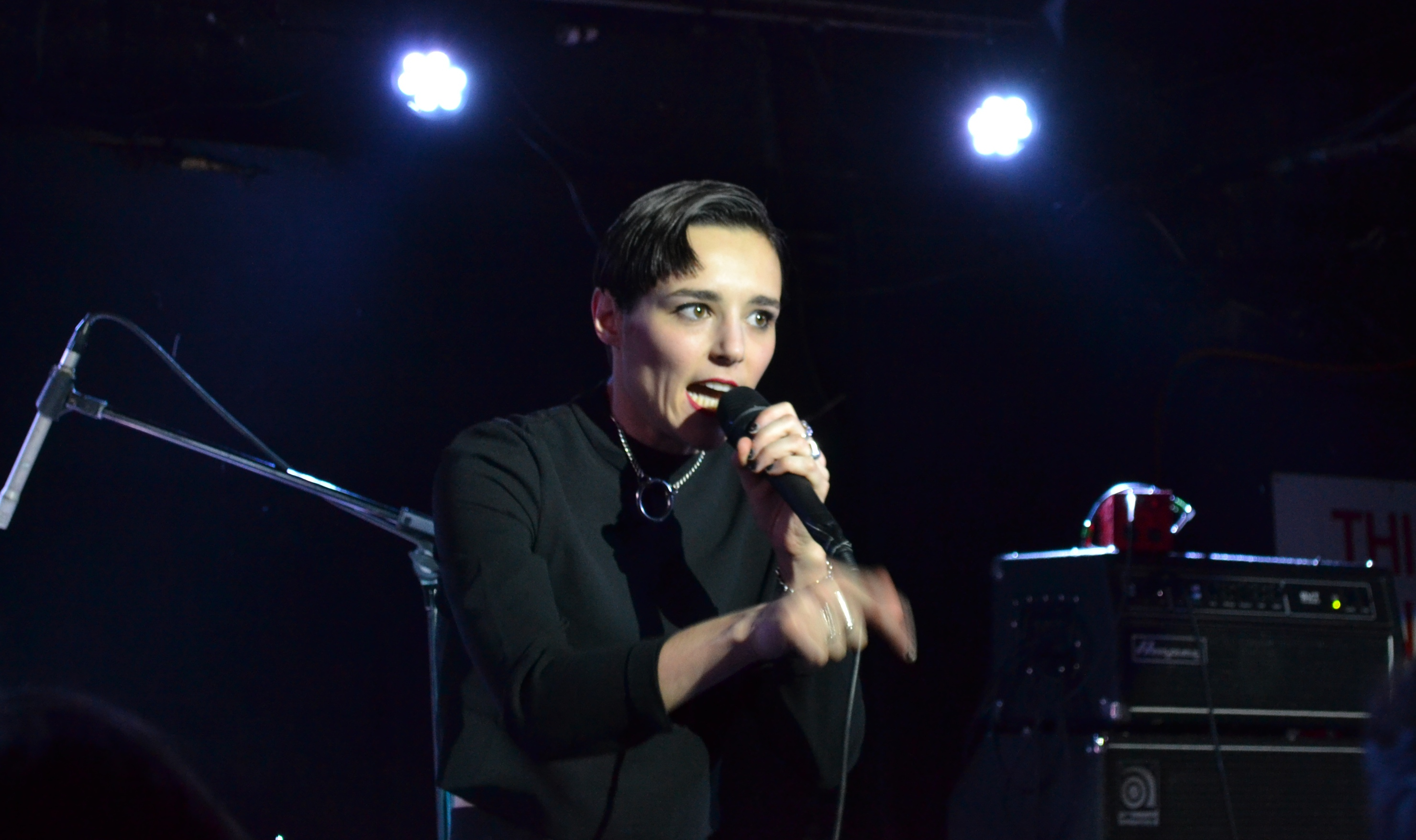 Savages Played New Material from their forthcoming album at their Second New York City show on Wednesday night at The Mercury Lounge.