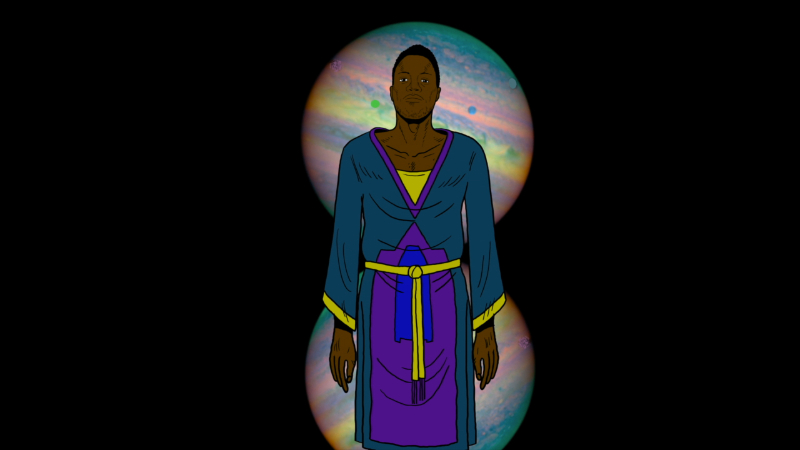"""Shabazz Palaces Debut """"Forerunner Foray"""" Video directed by Chad Van Gaalen, the song comes off their album 'Lese Majesty'"""