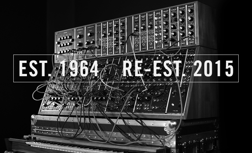 Moog Recommences Manufacturing Large Format Modular Synthesizers.