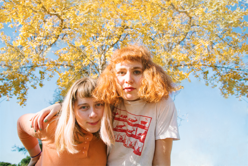 "Girlpool share ""Things Are OK"" documentary announce tour dates with Waxahatchee and Alex G"