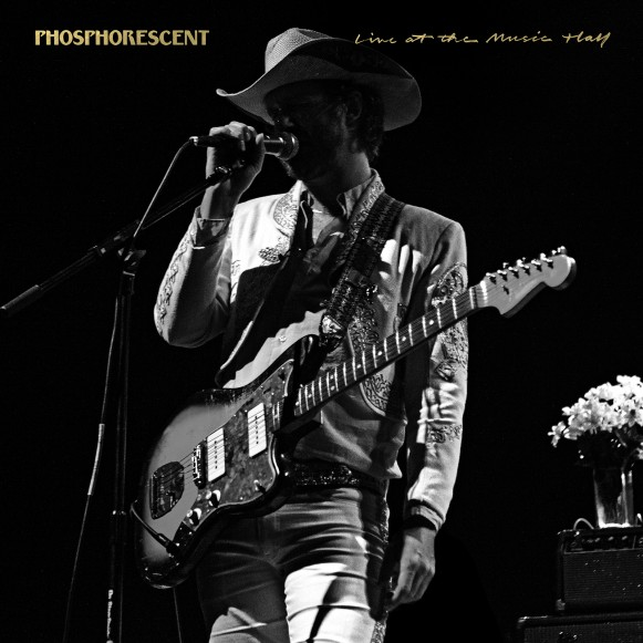 Review of 'Phosphorescent Live at the Music Hall' album. The LP will be available February 17th.
