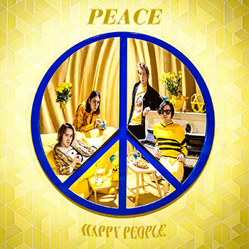 Review of the new album from UK band 'Peace' 'Happy People.