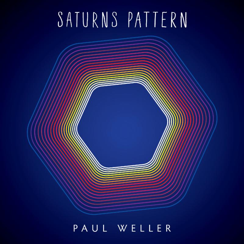 Paul Weller has announced the Release of his new LP 'Saturns Pattern,'