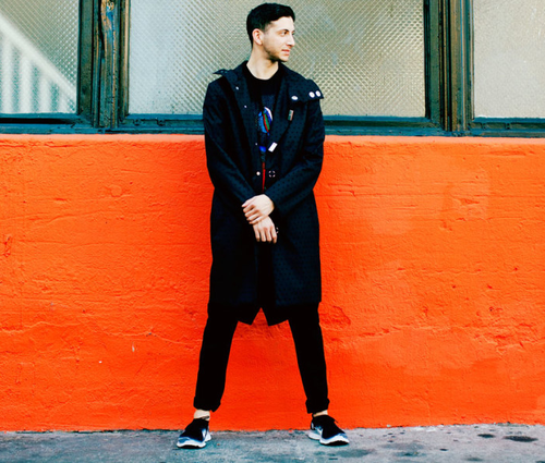 """Shlomo shares his new video for the track """"Beams,"""" from his 'Place' EP, our March 15th"""