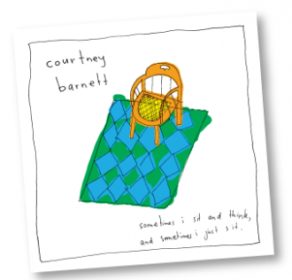 Review of the new Courtney Barnett album 'Sometimes I Sit and Think, and Sometimes I Just Sit,'