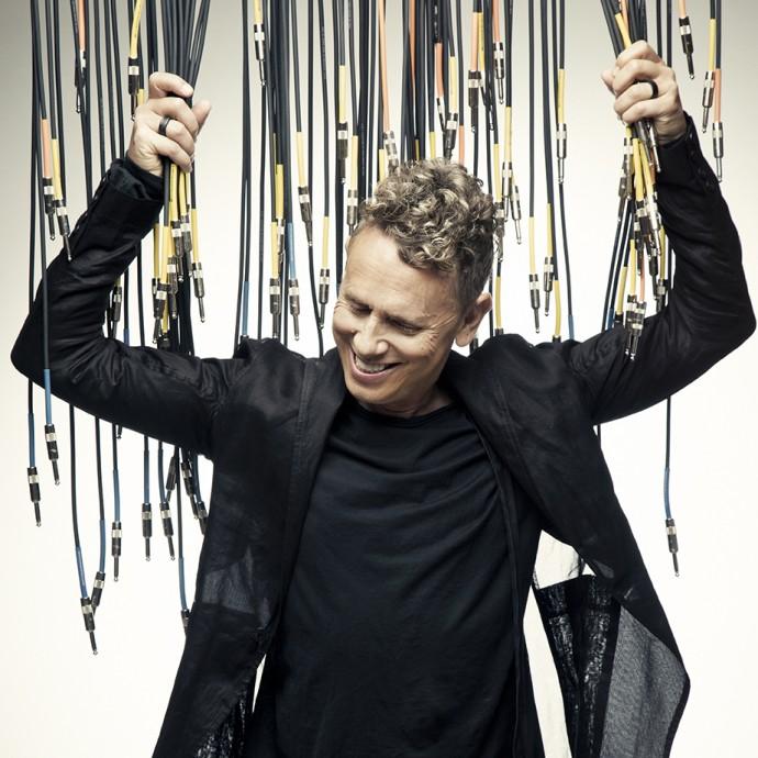 Martin Gore, of Depeche Mode, has announced his new solo album 'MG