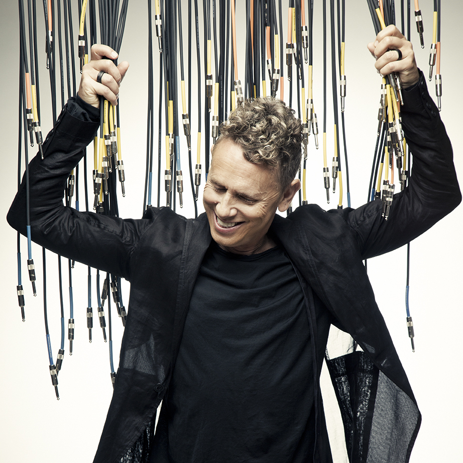 Martin Gore, of Depeche Mode, has announced his new solo album 'MG