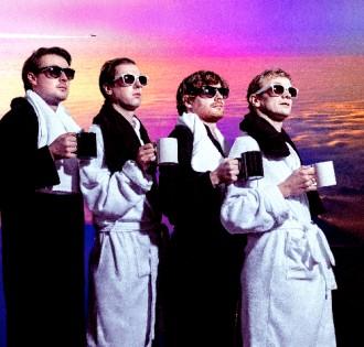 "Django Django Share new single ""Reflections,"" Off their forthcoming album 'Born Under Saturn.'"