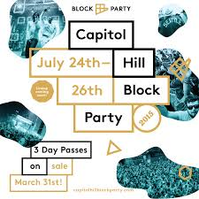 Capitol Hill Block Party Announces Initial 2015 Line-up