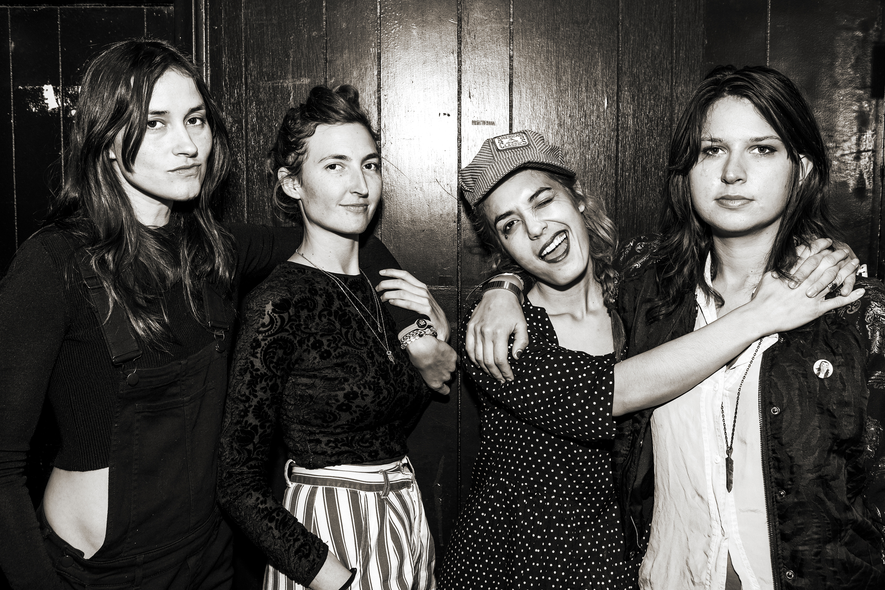 "Warpaint release new song ""I'll Start Believing."" The band has promised to release new singles and remixes"