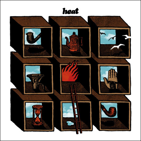 """Heat share their track """"This Life,"""" from their Ep 'Rooms,' now out on Kitsune"""