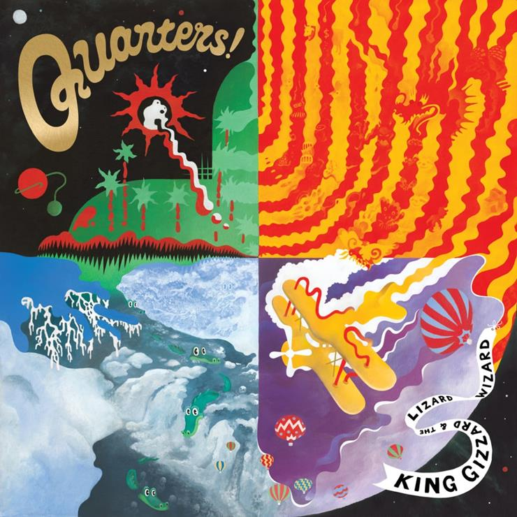 "King Gizzard & The Lizard Wizard Premiere ""God Is In The Rhythm,"" Announce New 'Quarters'"