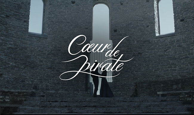 "Coeur de Pirate Releases New Single and Video for ""Carry On"" from her forthcoming album"