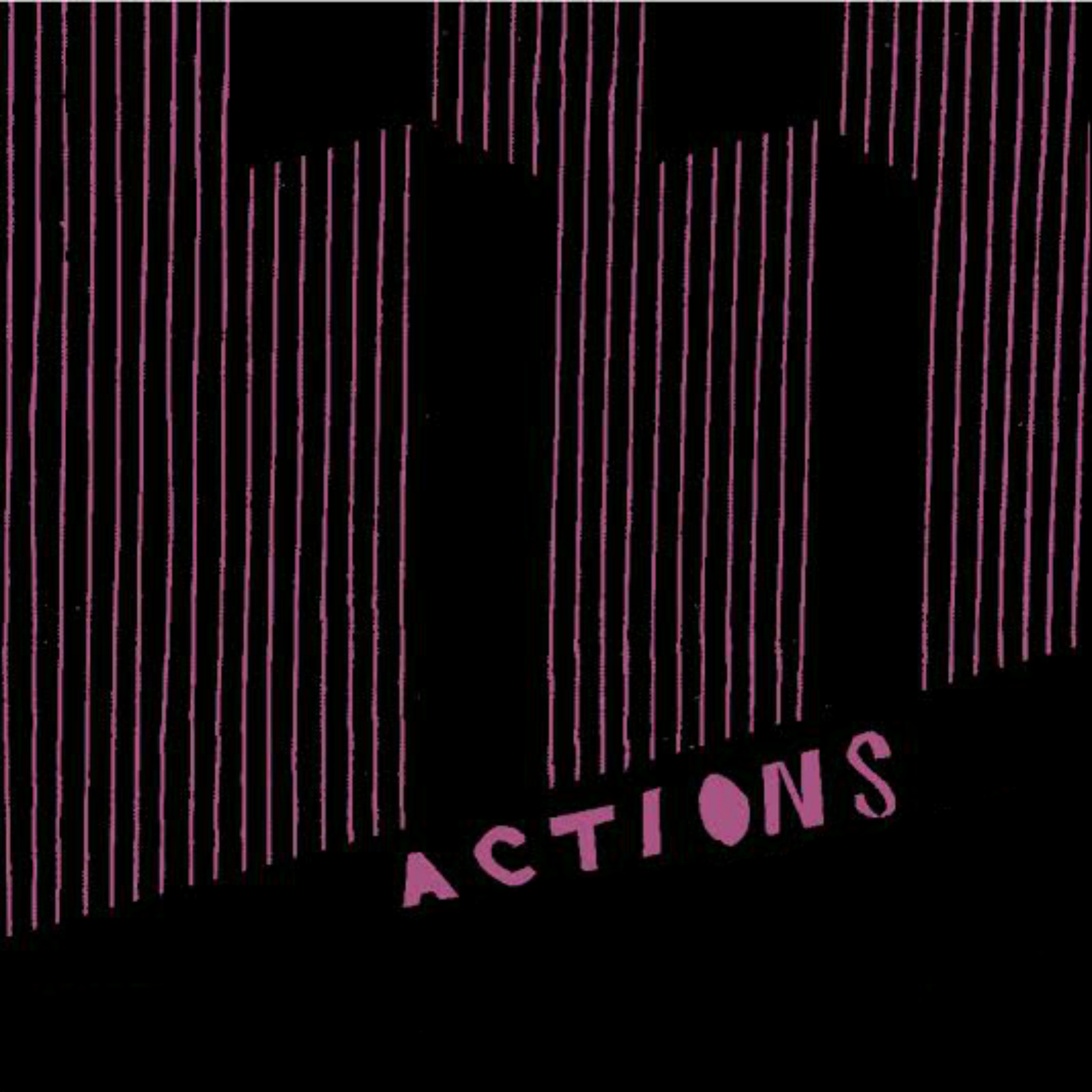 """Turn to crime share their single and title-track """"Actions,"""" the LP comes out 4/28 on Mugg & Bopp."""