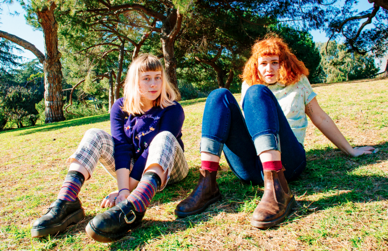 "Girlpool share ""Before The World Was Big"" the lead single and title-track from their forthcoming album"