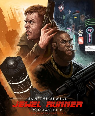 Run The Jewels announce new U.S. tour dates, starting September 29th in Tucson, AZ