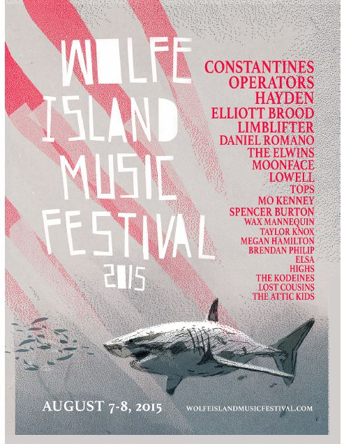 Wolfe Island announces 2015 lineup, band playing include Constantines, Operators, Hayden