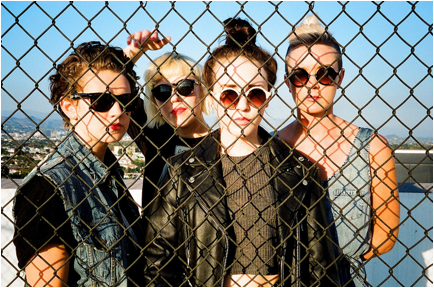 """PINS premiere their new single """"Molly."""" from their forthcoming LP 'Wild Nights."""