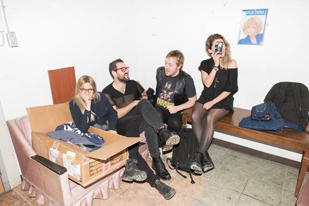 "No Joy share new single ""Hollywood Teeth,"" ahead of the release 'More Faithful.'"