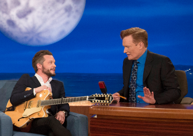 """The Tallest Man On Earth makes his television debut on 'Conan.' performing his single """"Sagres"""""""
