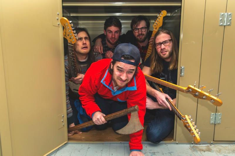 Diarrhea Planet start tour & share live video from Pickathon