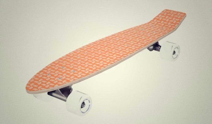 skateboard lovers, Nicolas and Cédric of HERVET-MANUFACTURIER, have created a skateboard line with Daft Punk