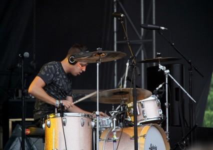 Robert Delong at Bestival 2015