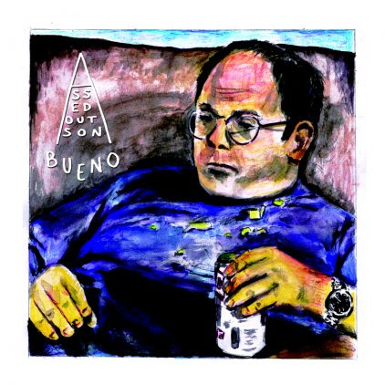 """NYC band Bueno announce 'Assed Out' 7"""" out July 9th on Shea Stadium Records."""