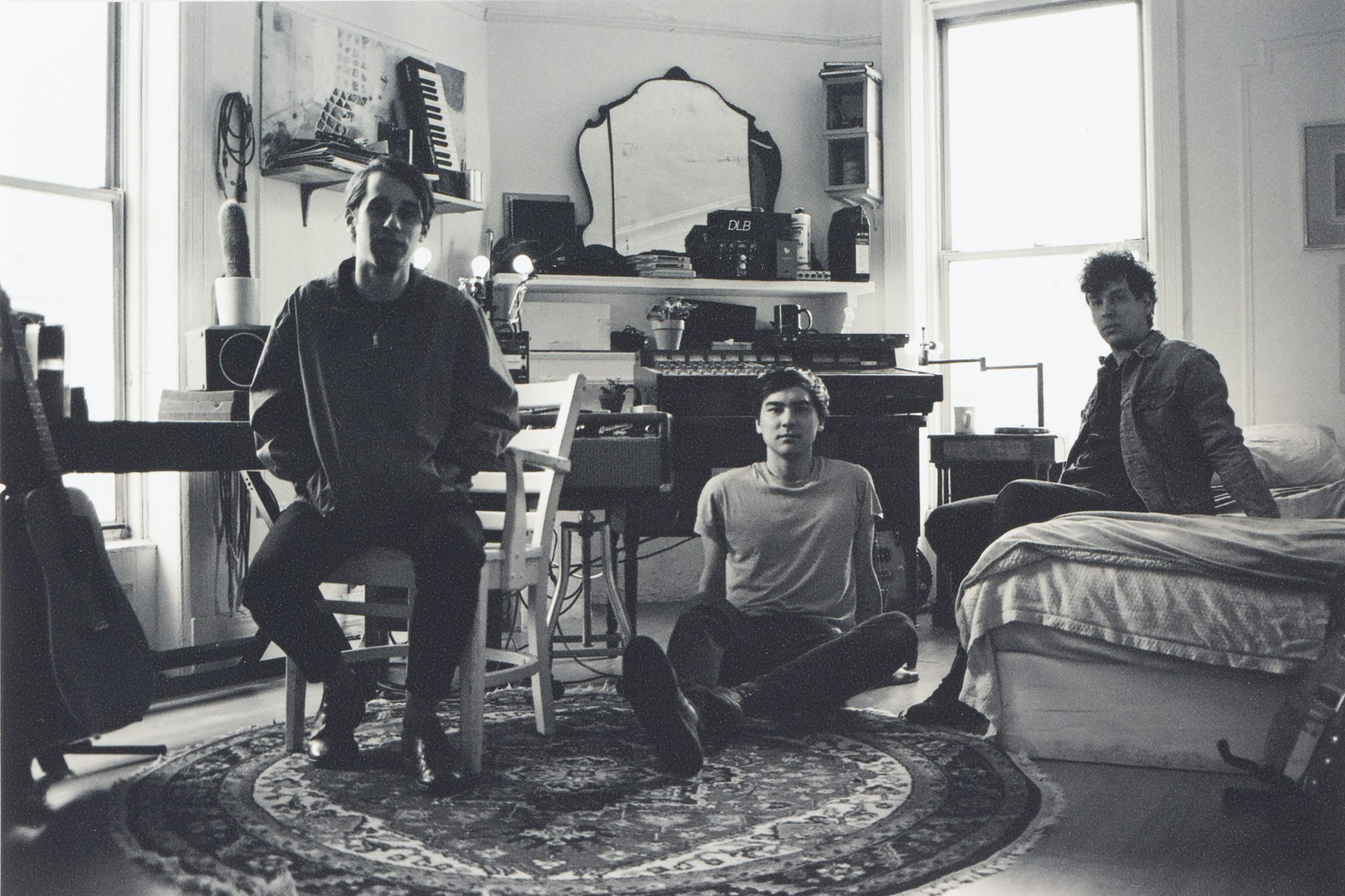 """Listen To EZTV's New Single """"Soft Tension"""" off their forthcoming album 'Calling Out,' available July 12th on Captured Tracks."""
