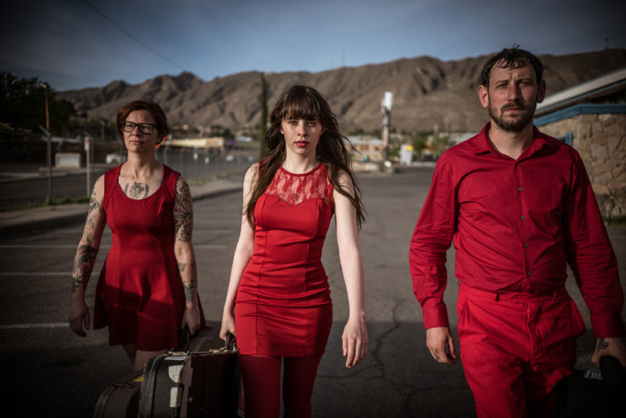 """Le Butcherettes stream """"They F**k You Over,"""" the lead single from their Omar Rodriguez produced Ipecac records release 'A Raw Youth,"""""""
