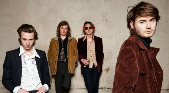 "Palma Violets have released their new video for their current single ""On The Beach"", off their latest album 'Danger In The Club'"