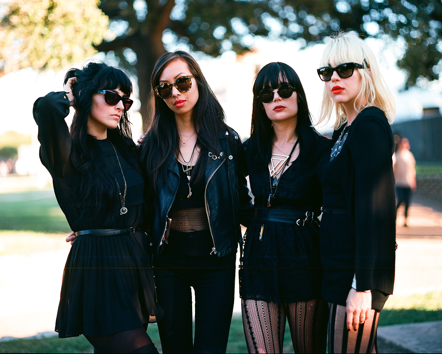 "Dum Dum Girls have shred an unreleased version of their video for the single ""Coming Down""."