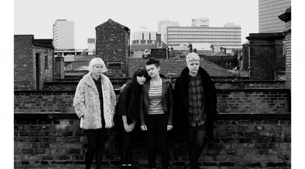 """Pins have premiered """"Live & Let Go"""", a b-side from their new LP 'Wild Nights'"""