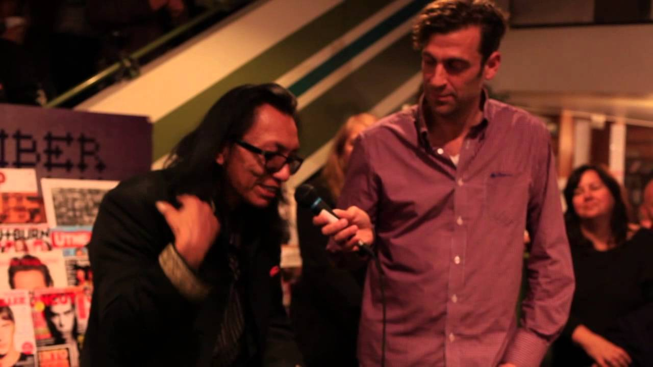 Sixto Rodriguez Interview at Zulu Records