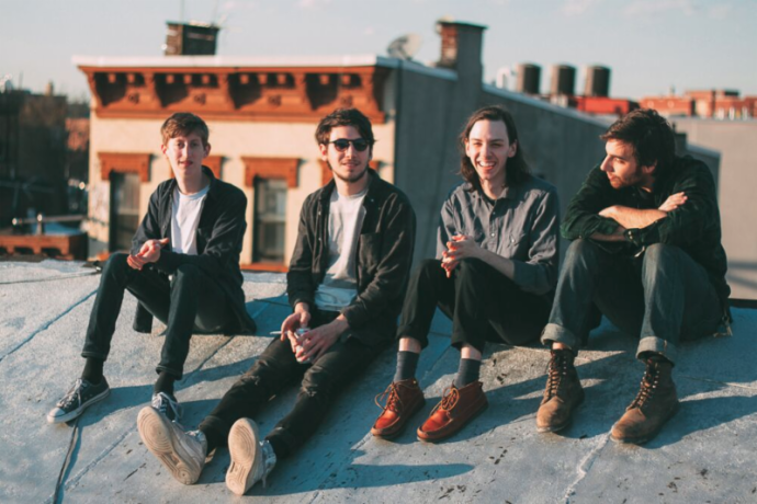 """Brooklyn's LVL UP shared a stream of their new Three Songs 7"""""""