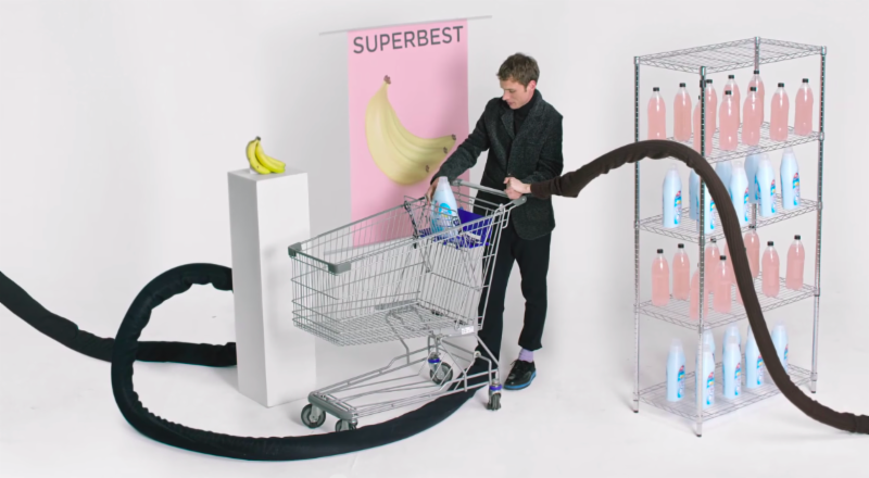 "Miami Horror premiered their latest video ""Cellophane (So Cruel)"" today."