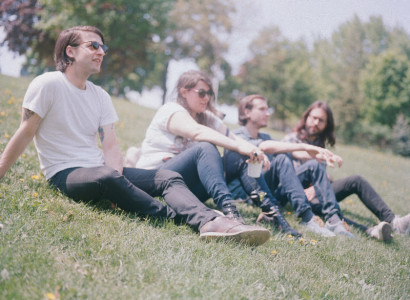"Fake Palms have shared their latest single ""Sparkles."" The track comes off their forthcoming self-titled LP"