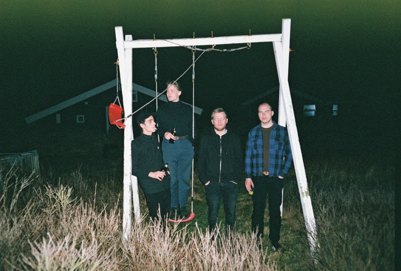 """Denmark's Yung have dropped their new single single """"Burning Bodies"""" from their """"Blanket/Burning Bodies"""" 7"""""""