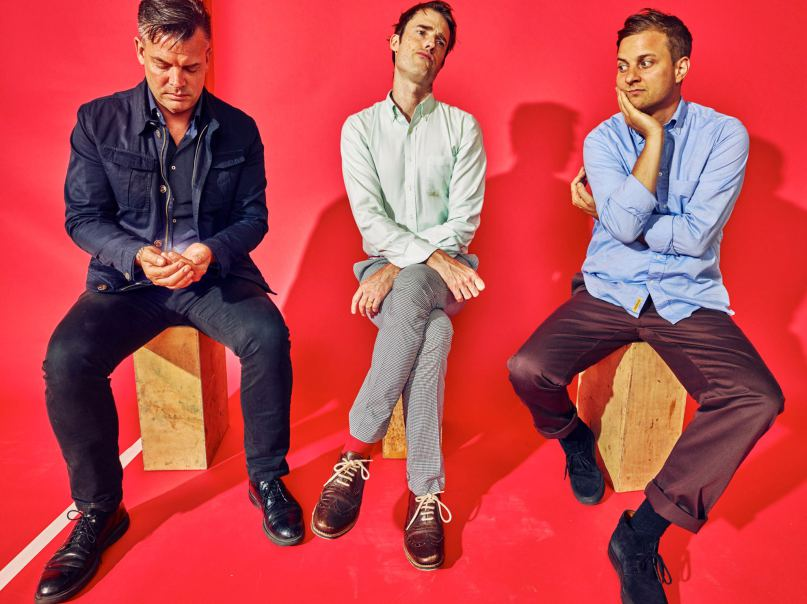 Battles are live streaming four new tracks from their upcoming album La Di Da Di on their YouTube channel