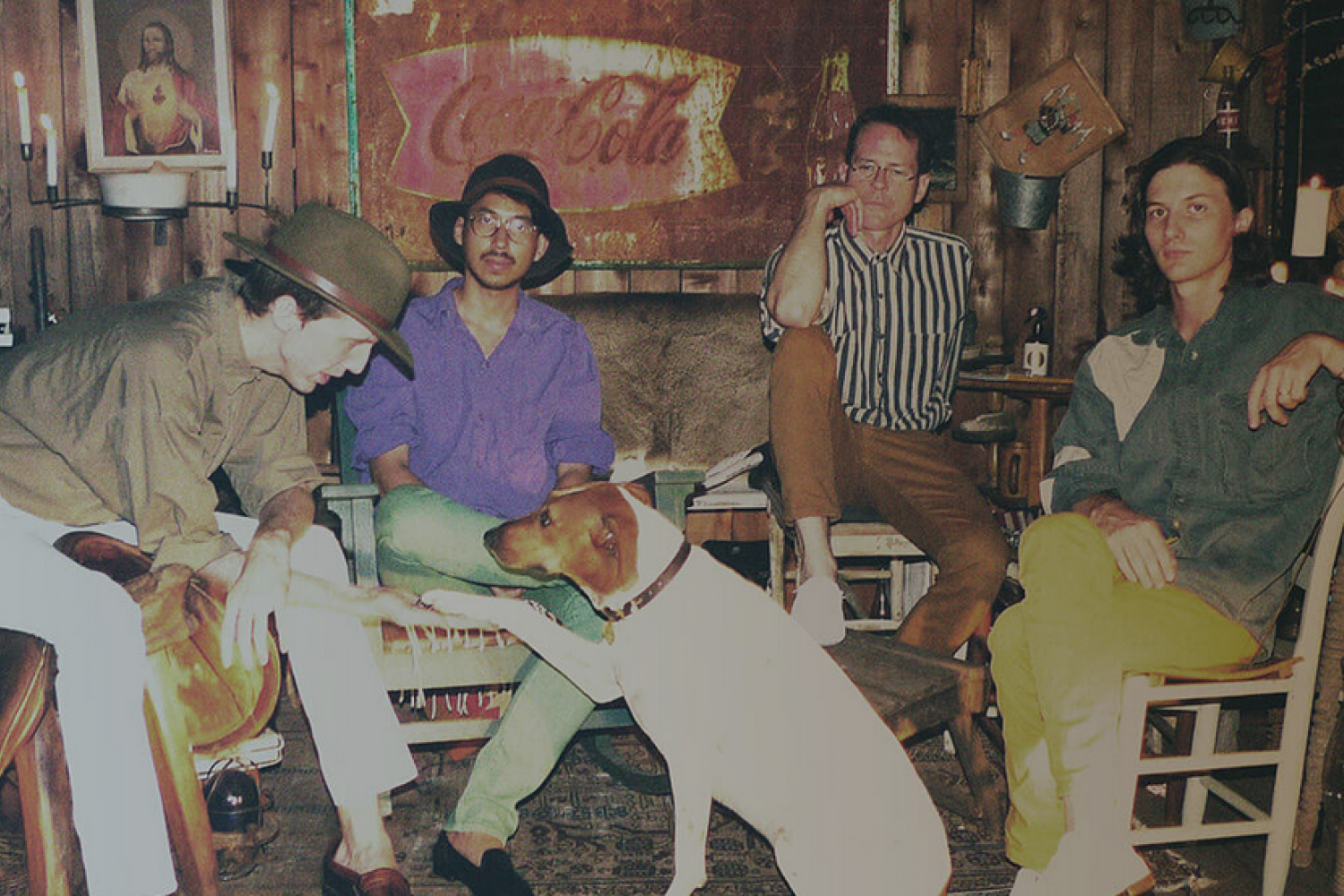 Deerhunter have revealed the title of their forthcoming LP. 'Fading Frontier', out October 16, via 4AD.