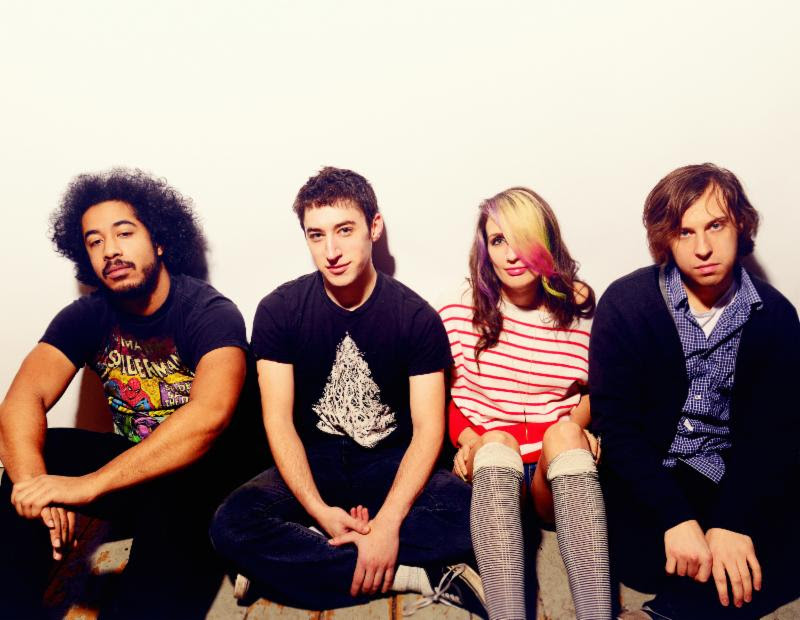 """Speedy Ortiz share their cover The Cardigans """"Hanging Around"""", the track is now streaming on Northern Transmissions."""