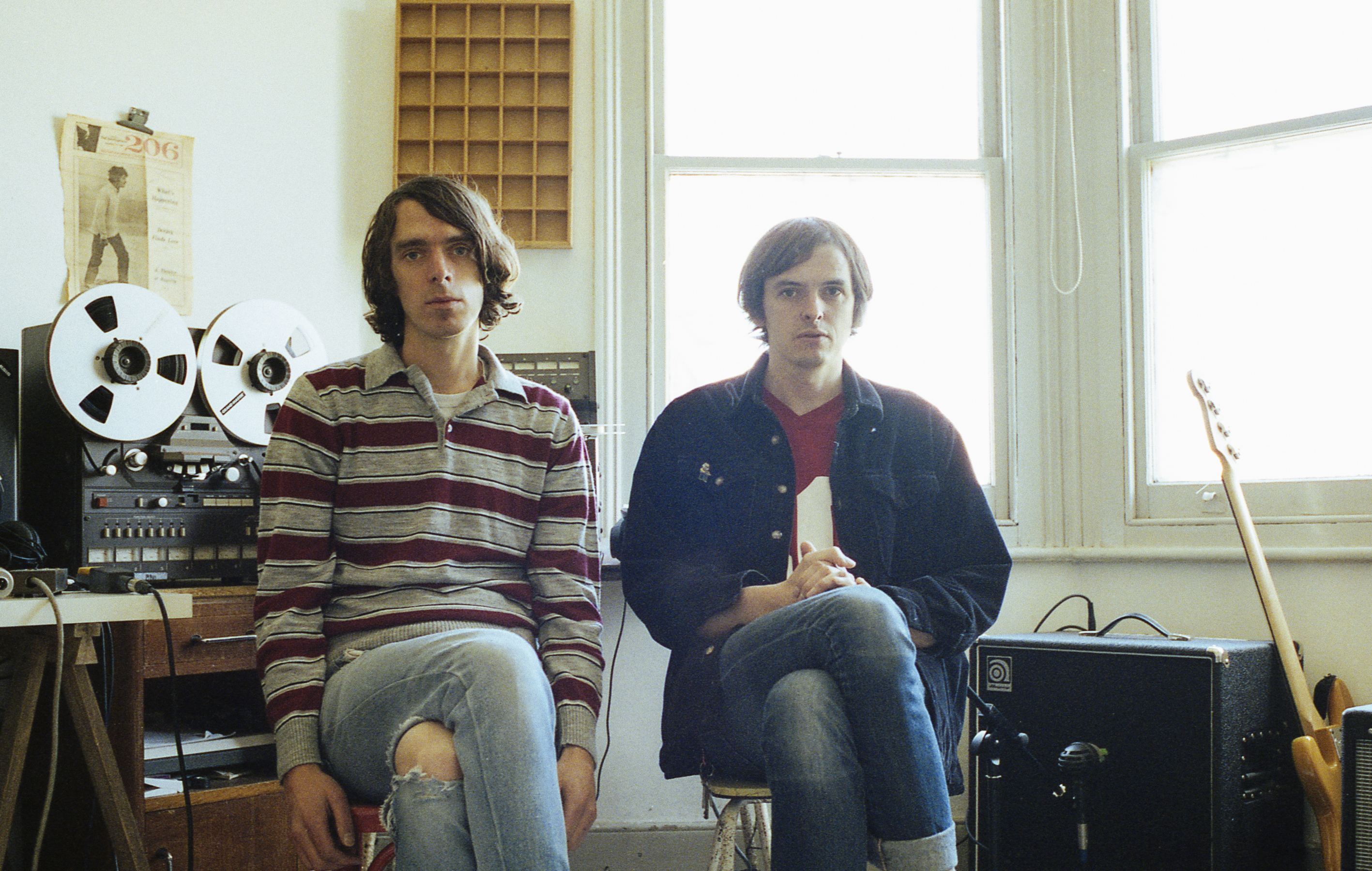 Ultimate Painting aka Jack Cooper and James Hoare are streaming their forthcoming LP 'Green Lanes'