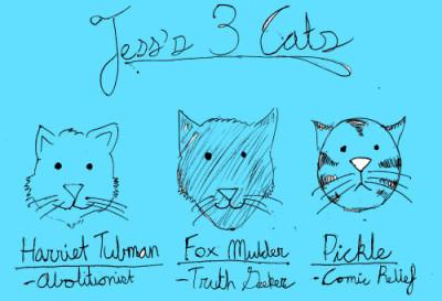 Diet Cig interview - Jess's Cats