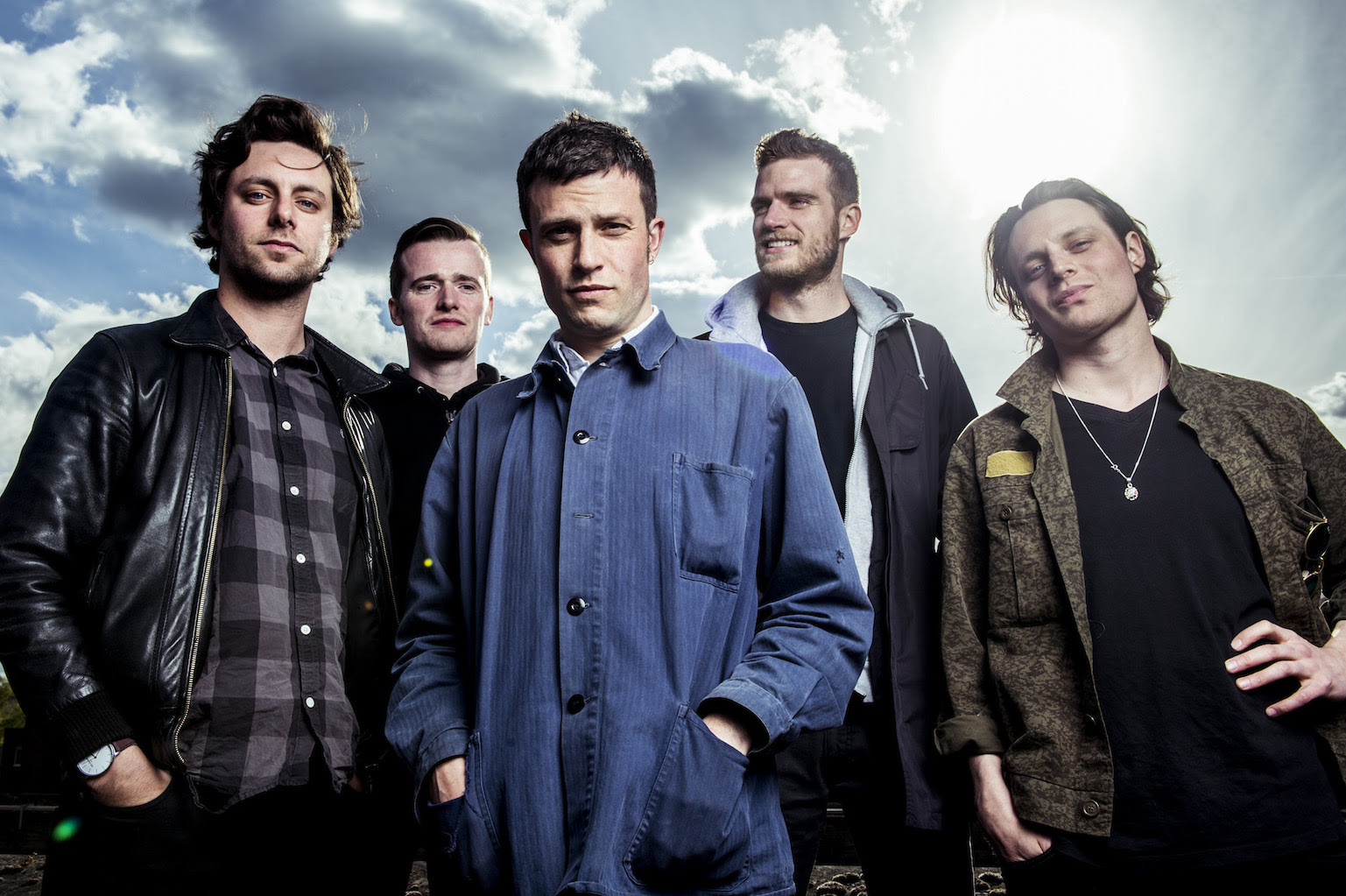 """The Maccabees Announce North American Tour. Premiere Steve Mason (Beta Band) Remix of """"Something Like Happiness""""."""